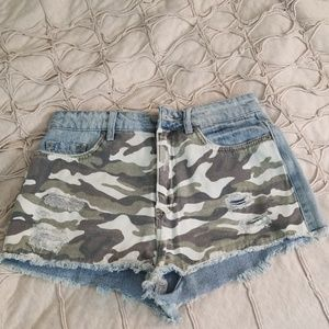 Urban Outfitters BDG High Rise Denim Shorts